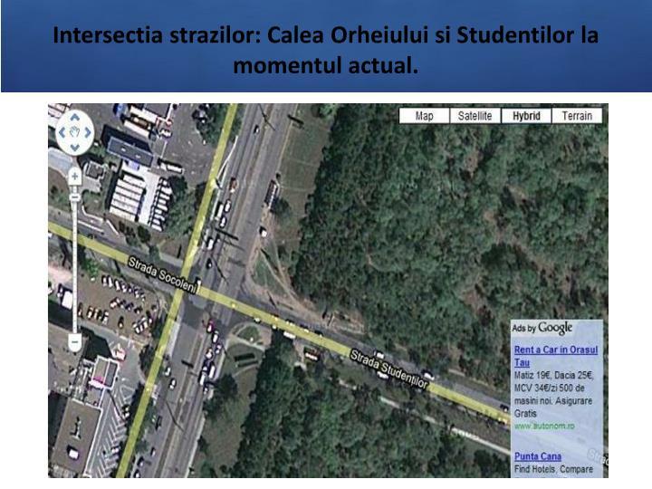 Intersectia strazilor: Calea