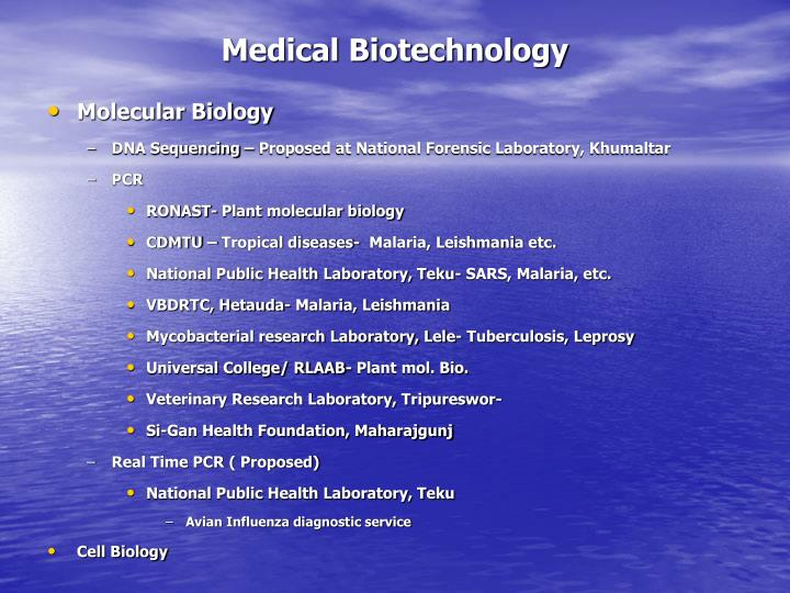 Medical Biotechnology