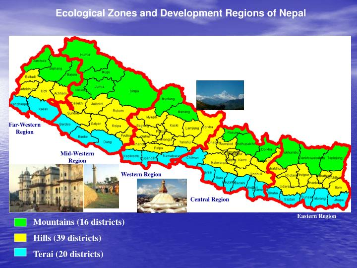 Ecological Zones and Development Regions of Nepal