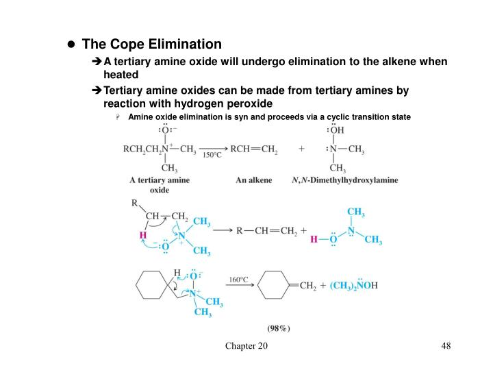 The Cope Elimination