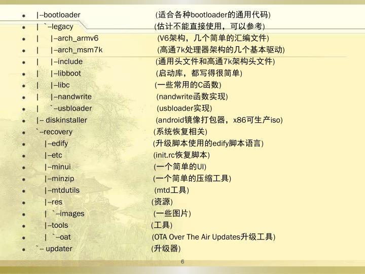 |--bootloader                                     (