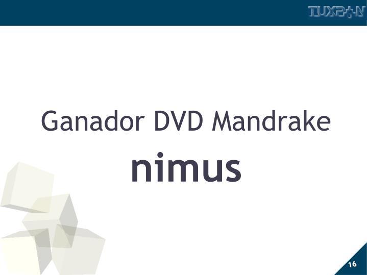 Ganador DVD Mandrake