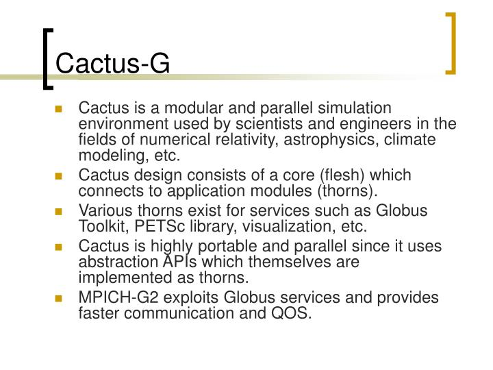 Cactus-G