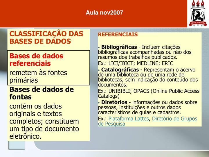 Aula nov2007