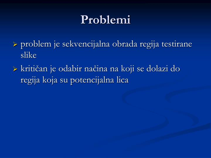 Problemi