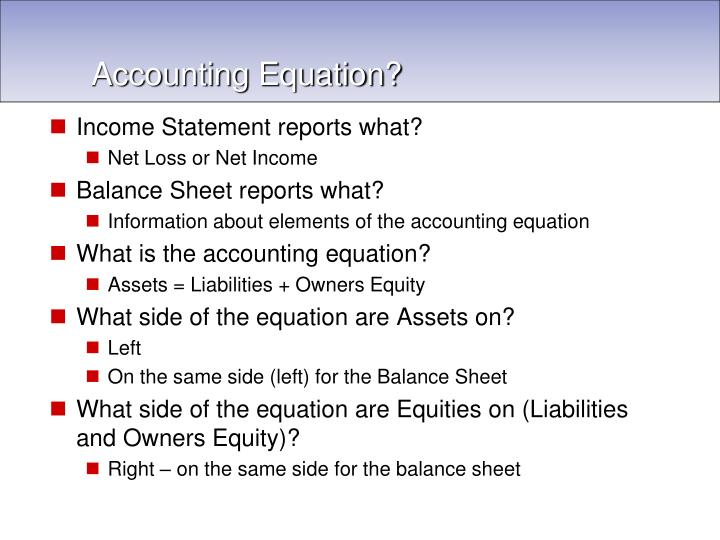 Income Statement reports what?