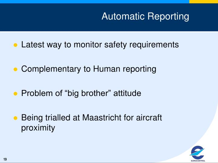 Automatic Reporting