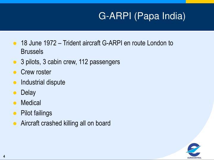 G-ARPI (Papa India)