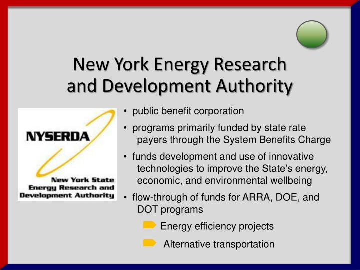 New York Energy Research