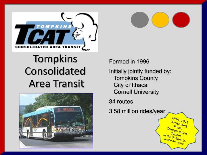 Tompkins Consolidated