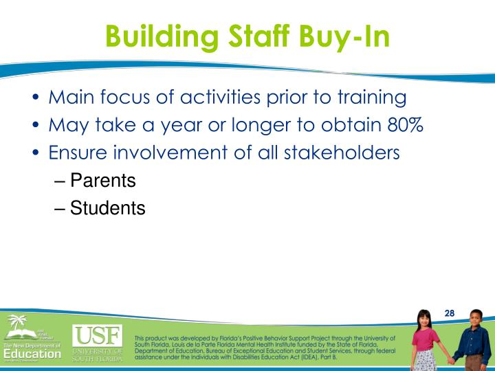 Building Staff Buy-In