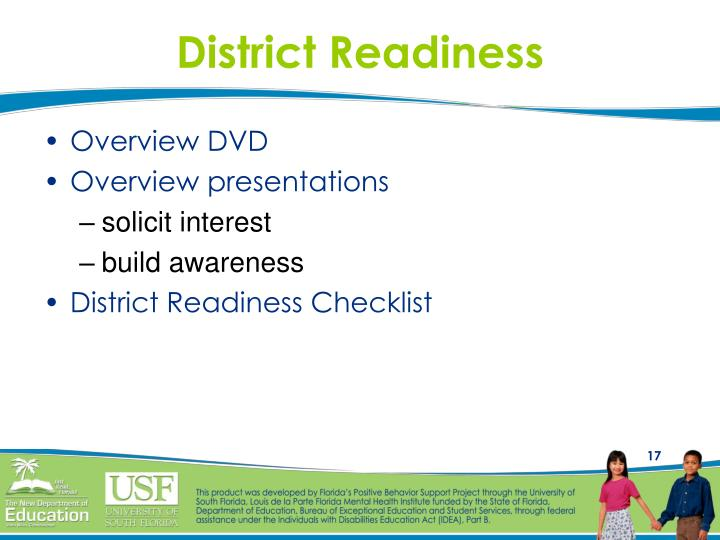 District Readiness
