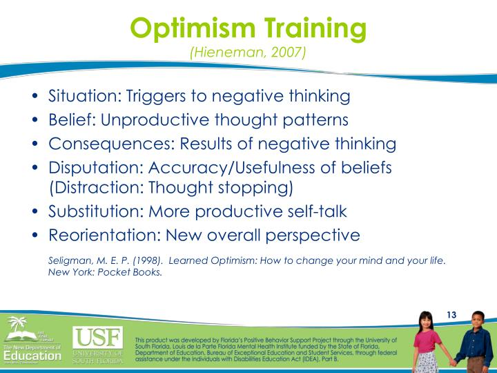 Optimism Training