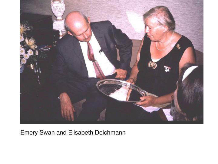 Emery Swan and Elisabeth Deichmann