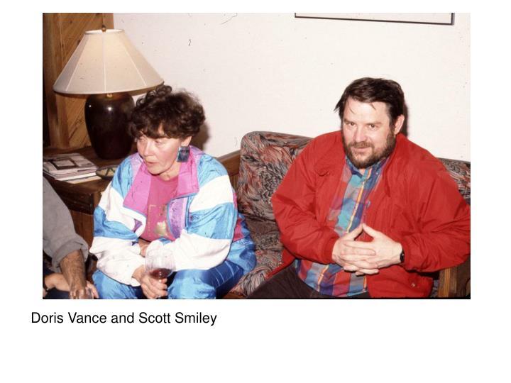 Doris Vance and Scott Smiley