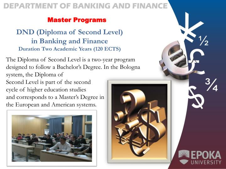 Master Programs