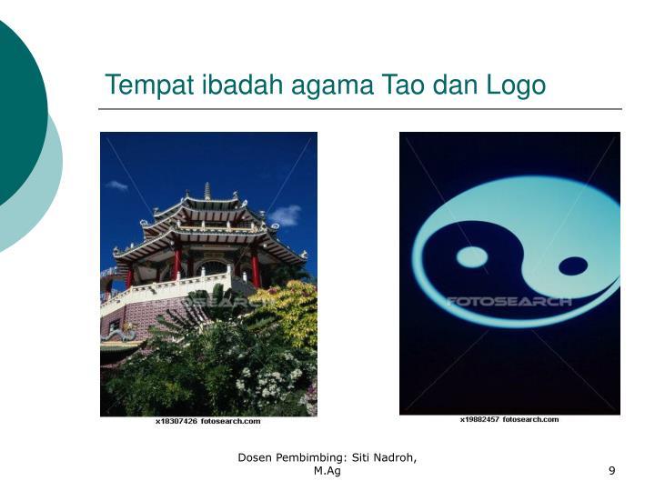 Tempat ibadah agama Tao dan Logo