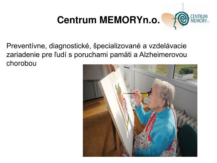 Centrum MEMORYn.o.