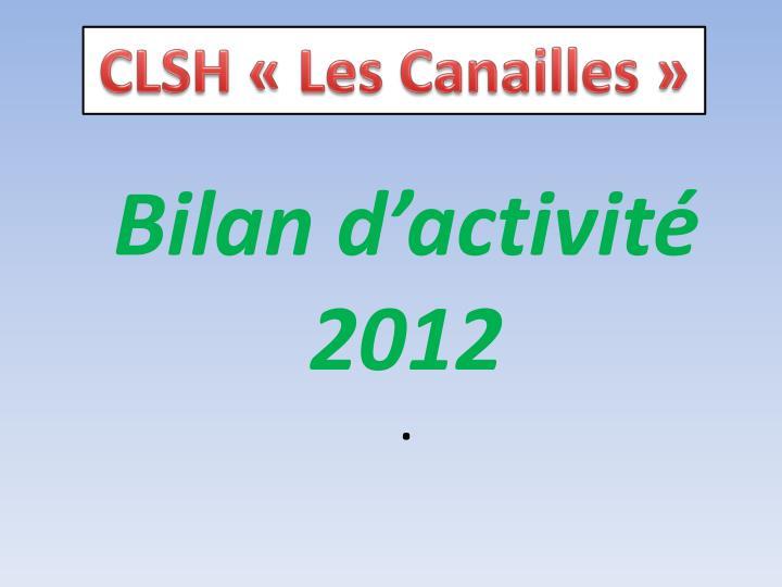 CLSH «Les Canailles»