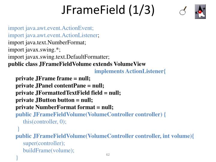 JFrameField (1/3)
