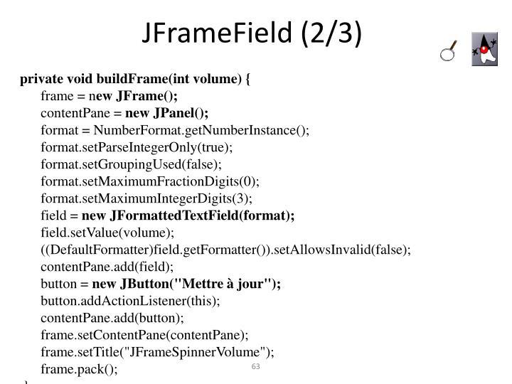 JFrameField (2/3)