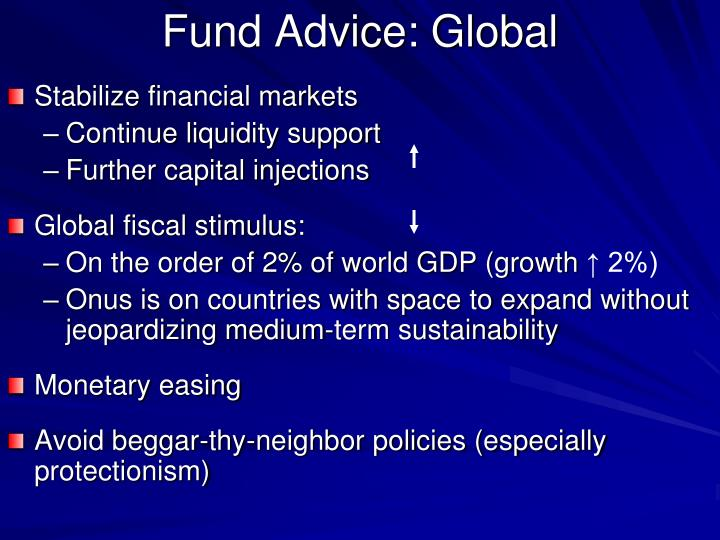 Fund Advice: Global