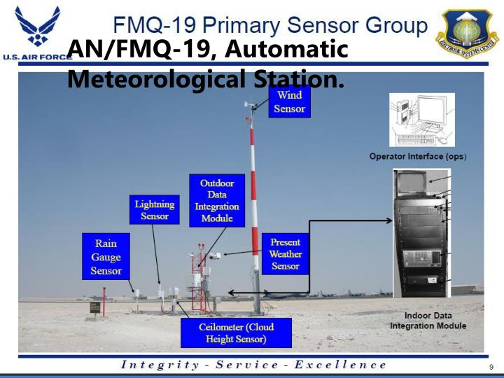 AN/FMQ-19, Automatic Meteorological Station.