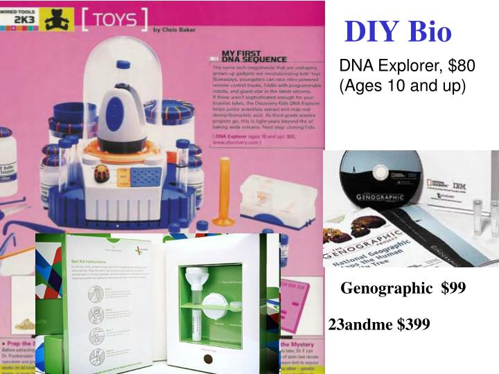 DNA Explorer, $80 (Ages 10 and up)