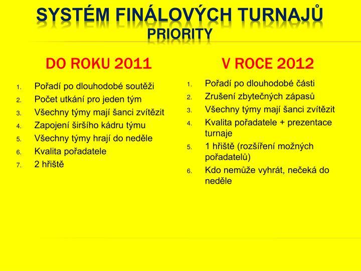 do roku 2011