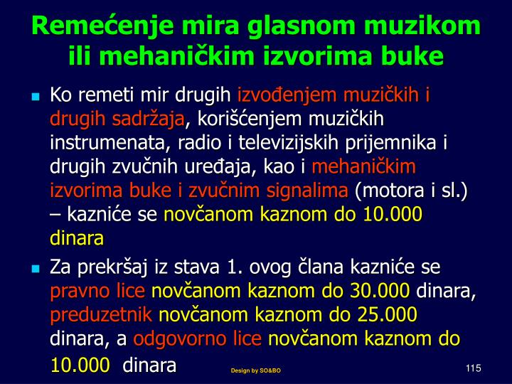 Remećenje mira glasn