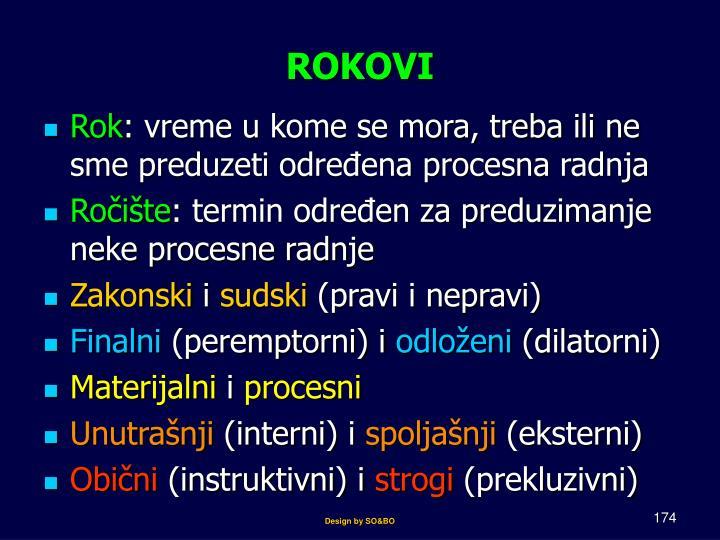 ROKOVI