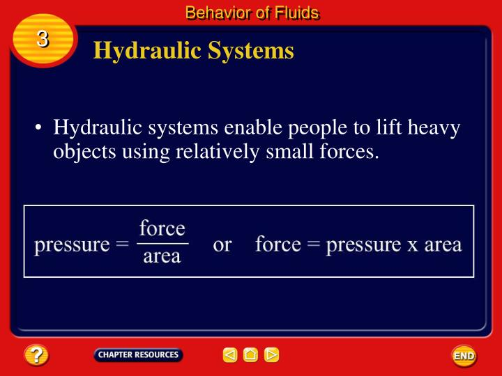 Behavior of Fluids