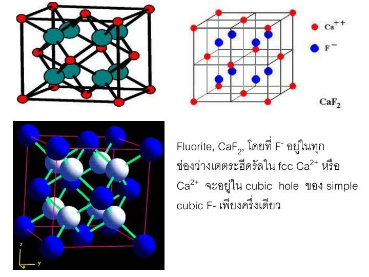 Fluorite, CaF
