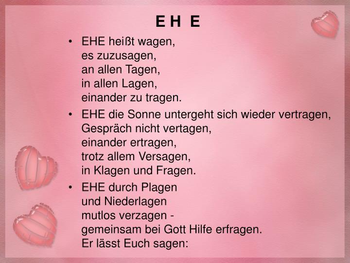 E H  E