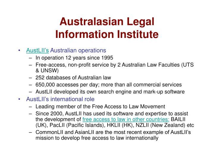 Australasian Legal