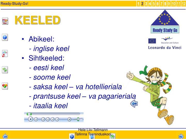 KEELED
