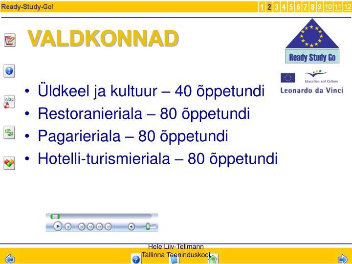 VALDKONNAD