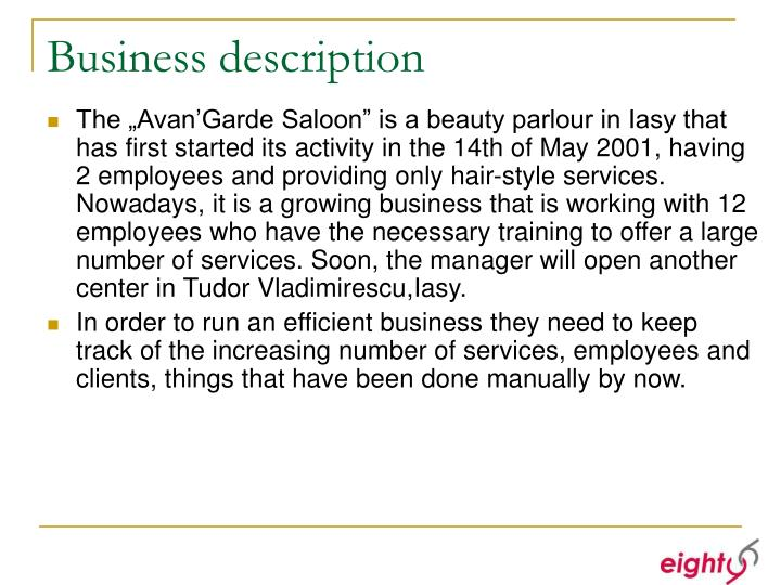 Business description