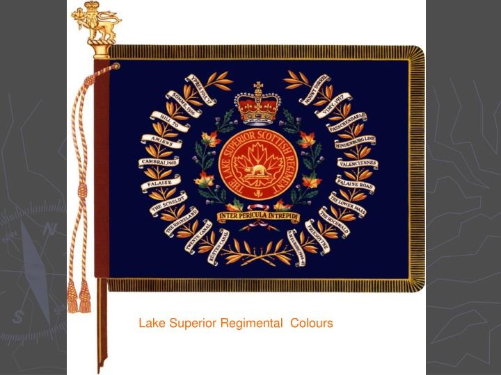Lake Superior Regimental  Colours