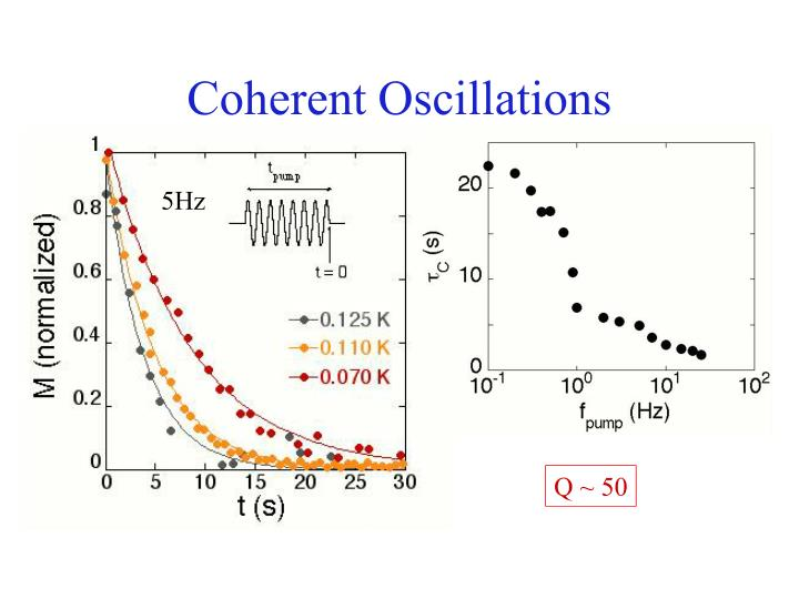 Coherent Oscillations