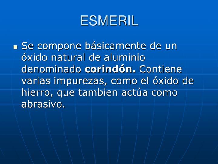 ESMERIL