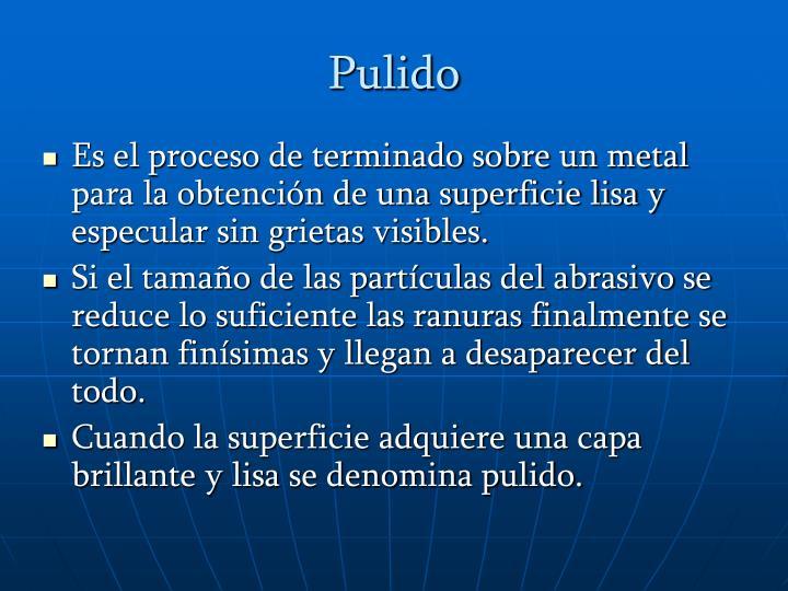Pulido