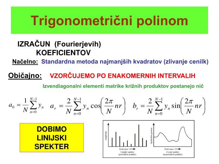 Trigonometrični polinom