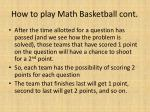 how to play math basketball cont1