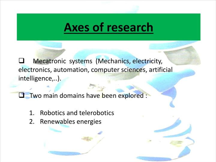 Axes of