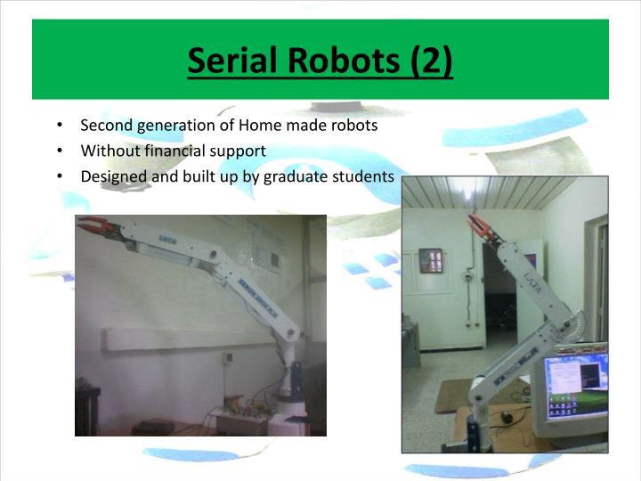 Serial Robots (2)