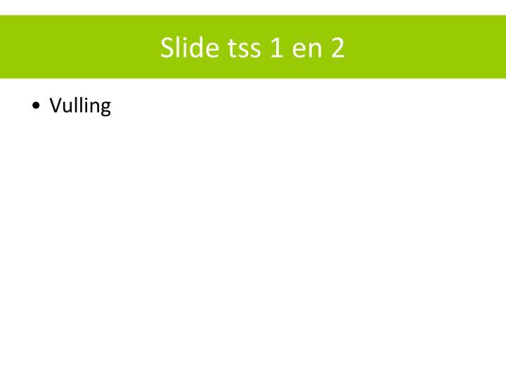 Slide tss 1 en 2