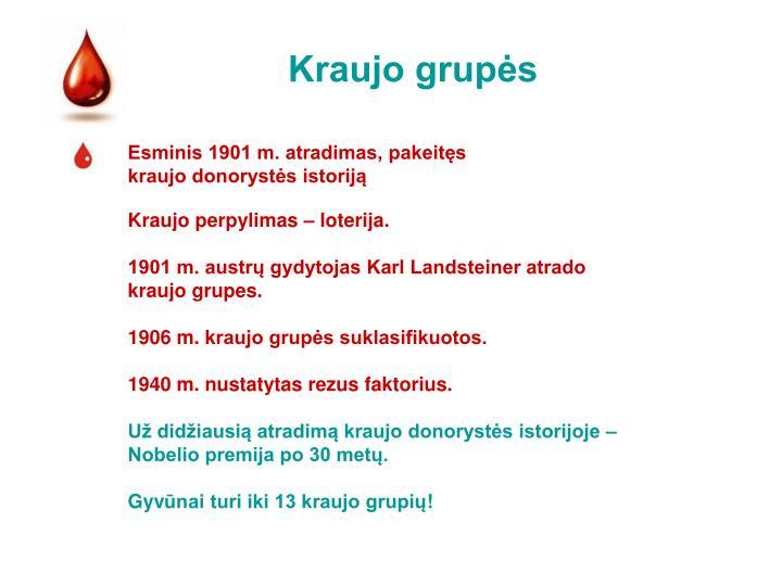 Kraujo grupės