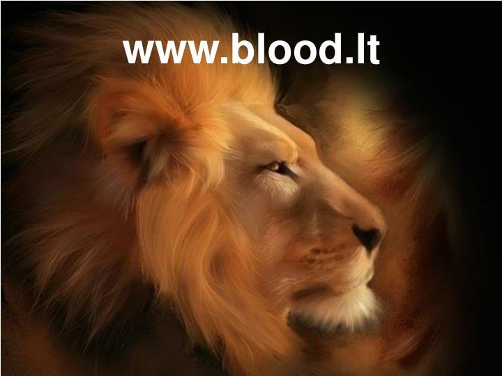 www.blood.lt