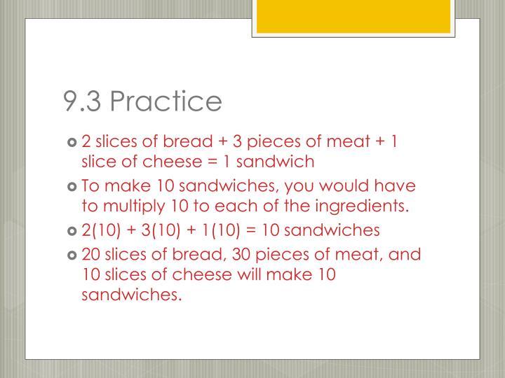 9.3 Practice